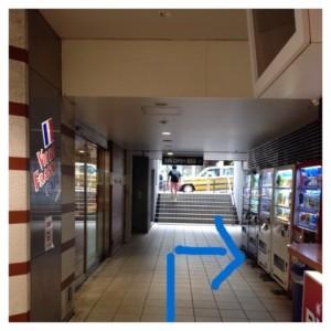 高田馬場駅戸山口またはビックボックス口出て正面の大通りに出て右折